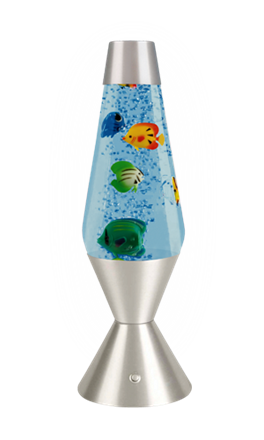 fish lava lamp photo - 6