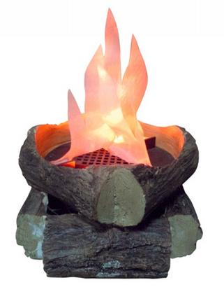 flame lamp photo - 2