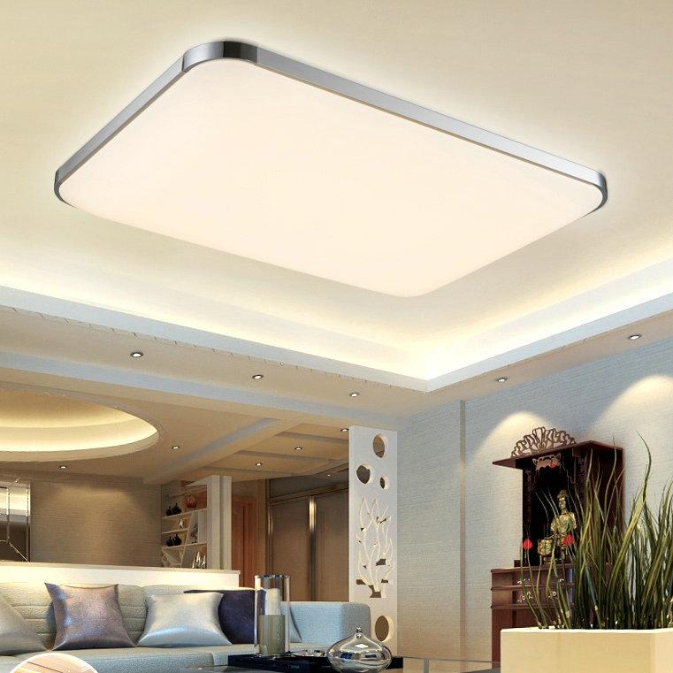 flat led ceiling lights photo - 9