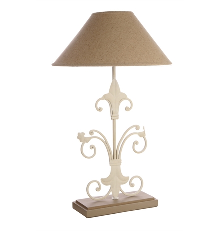 fleur de lis table lamp photo - 2
