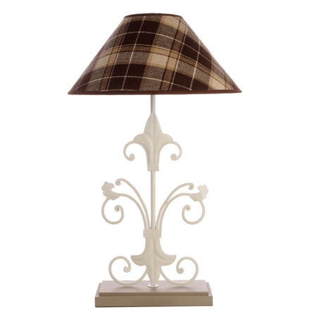 fleur de lis table lamp photo - 3