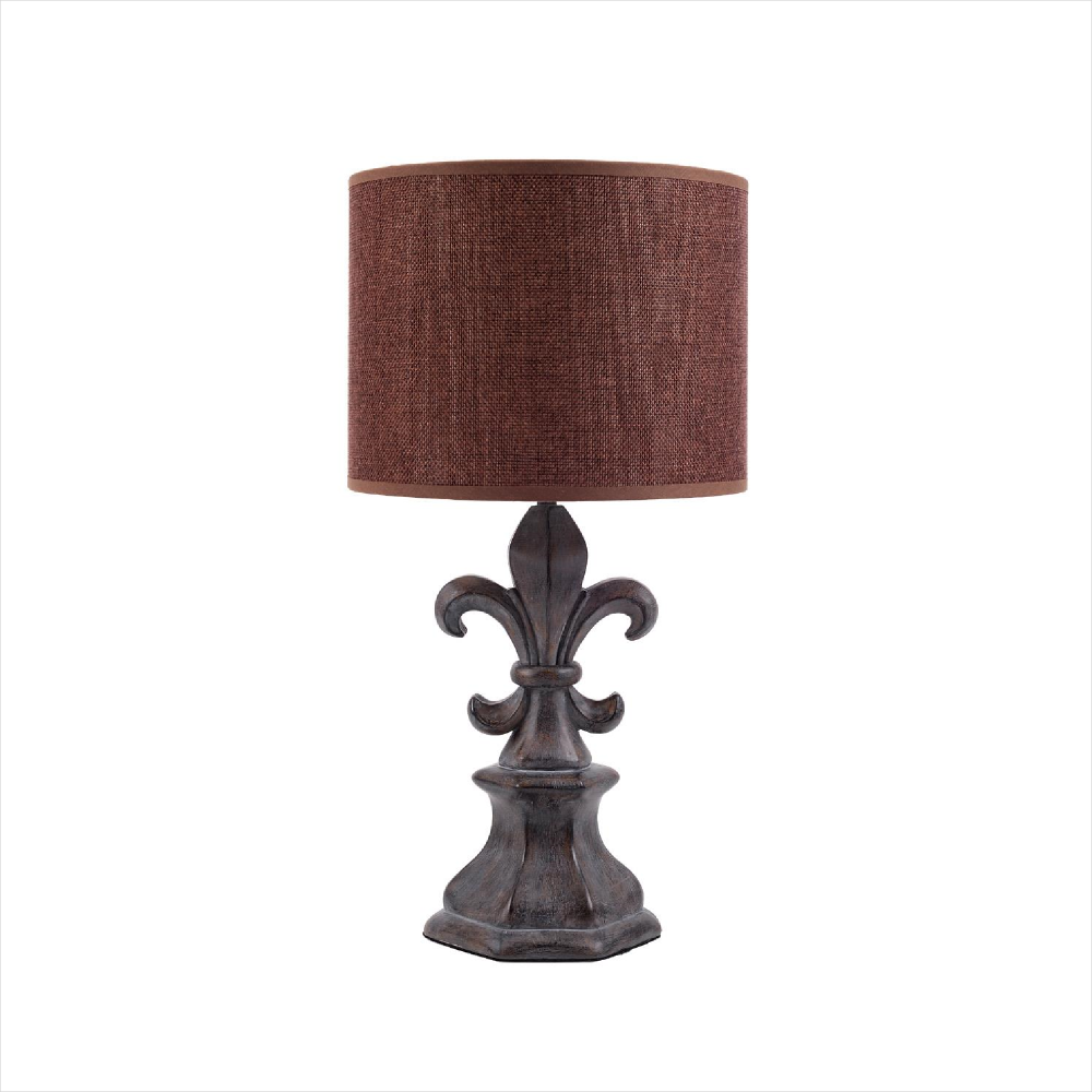 fleur de lis table lamp photo - 5