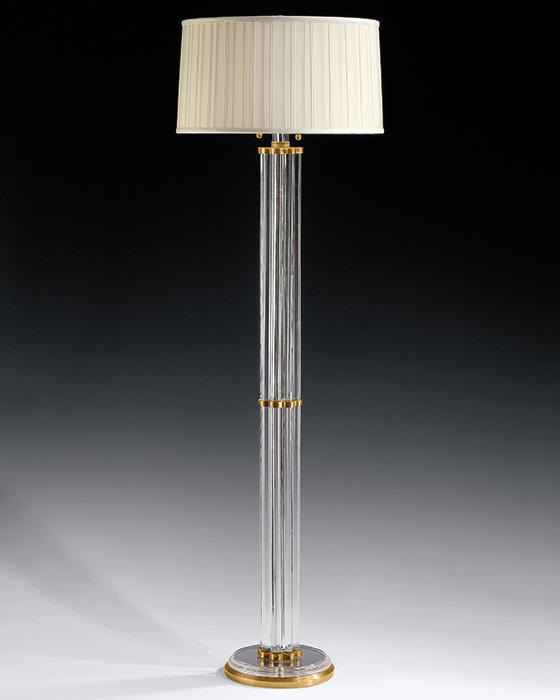 floor lamp crystal photo - 1
