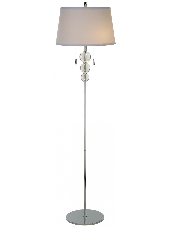 floor lamp crystal photo - 10