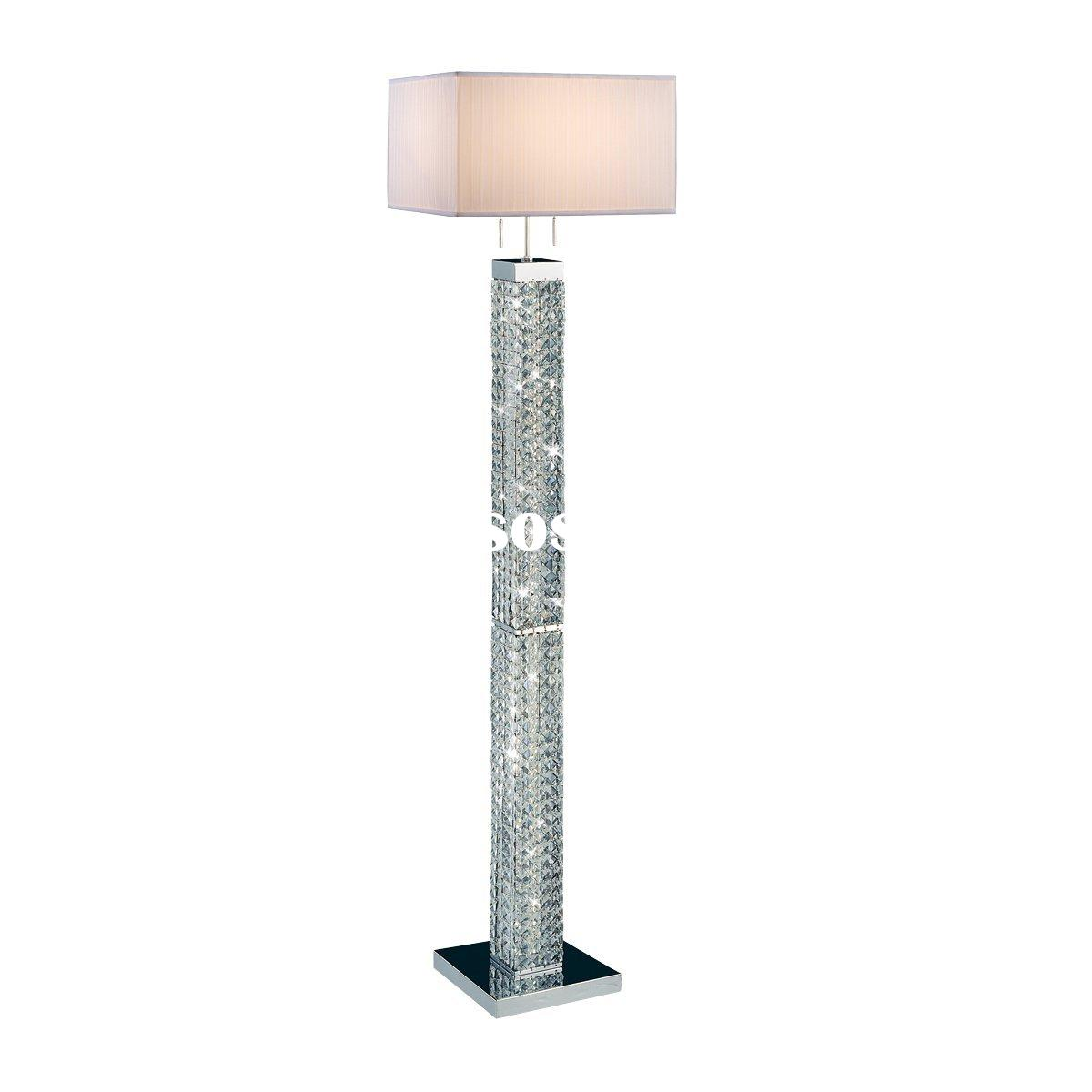 floor lamp crystal photo - 7