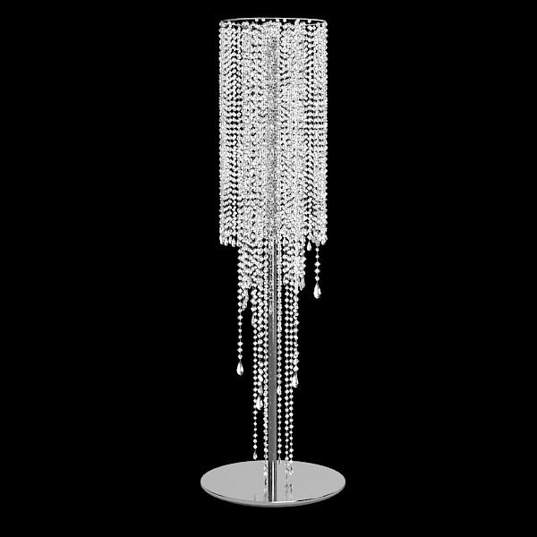 floor lamp crystal photo - 8