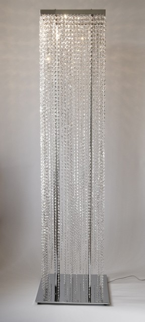 Beaded Floor Lamps: Let Floor lamp crystal Illuminate your Home and Personal Space ... - up  lighting,Lighting