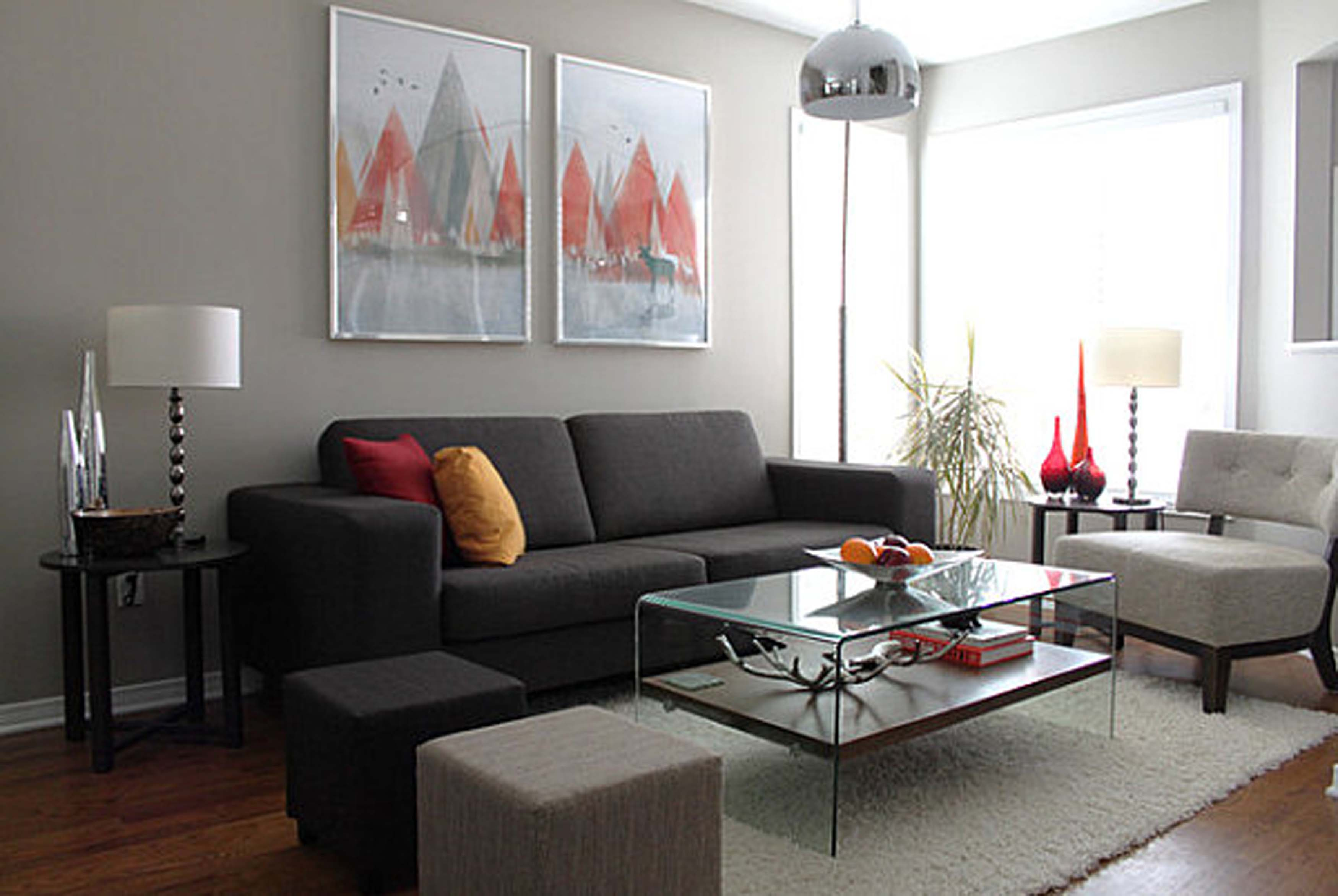 floor lamp living room photo - 1