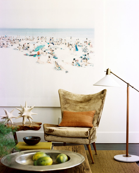 floor lamp living room photo - 2