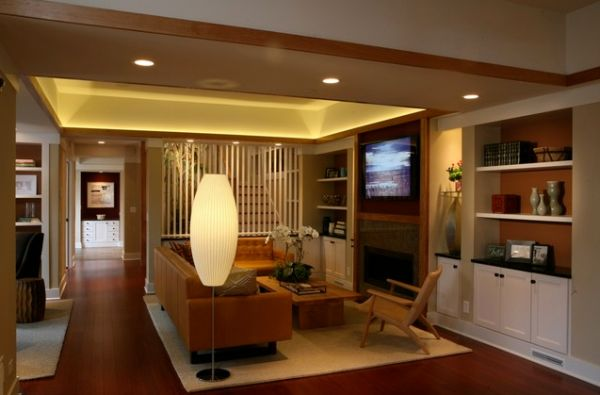 floor lamp living room photo - 6