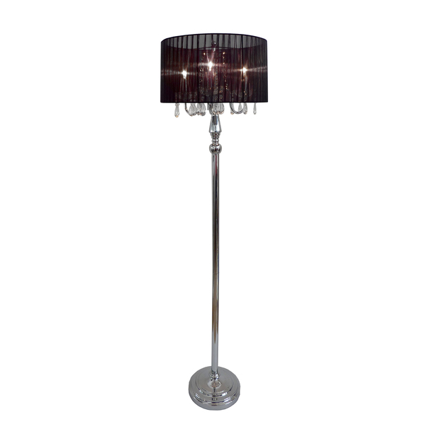 floor lamp with crystals photo - 3