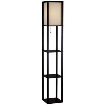 floor lamp with shelf photo - 2