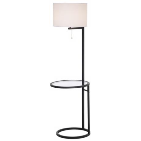 floor lamp with table photo - 10