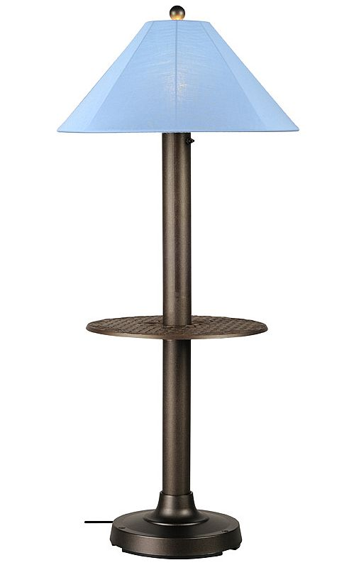floor lamp with table photo - 2