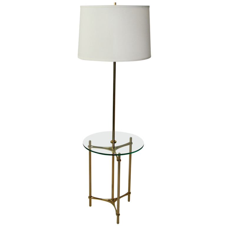 Standing Lamp With Table: floor lamp with table photo - 8,Lighting