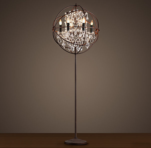 floor lamps crystal photo - 4