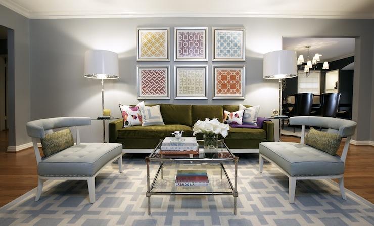 floor lamps in living room photo - 4