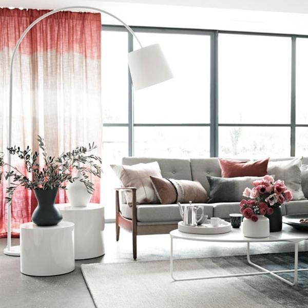 floor lamps in living room photo - 6