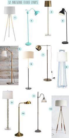 floor lamps with reading light photo - 6