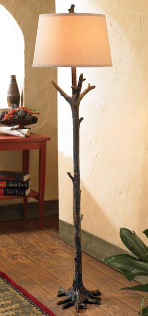 floor tree lamp photo - 2