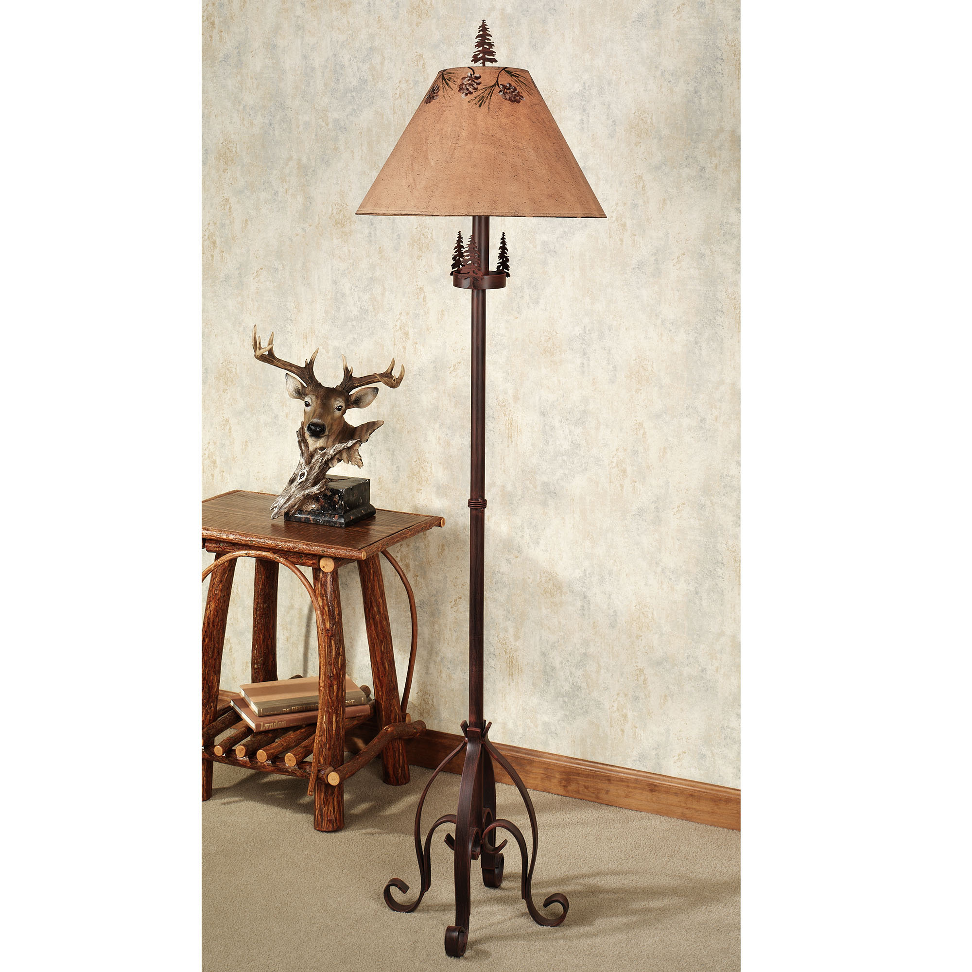 floor tree lamp photo - 7
