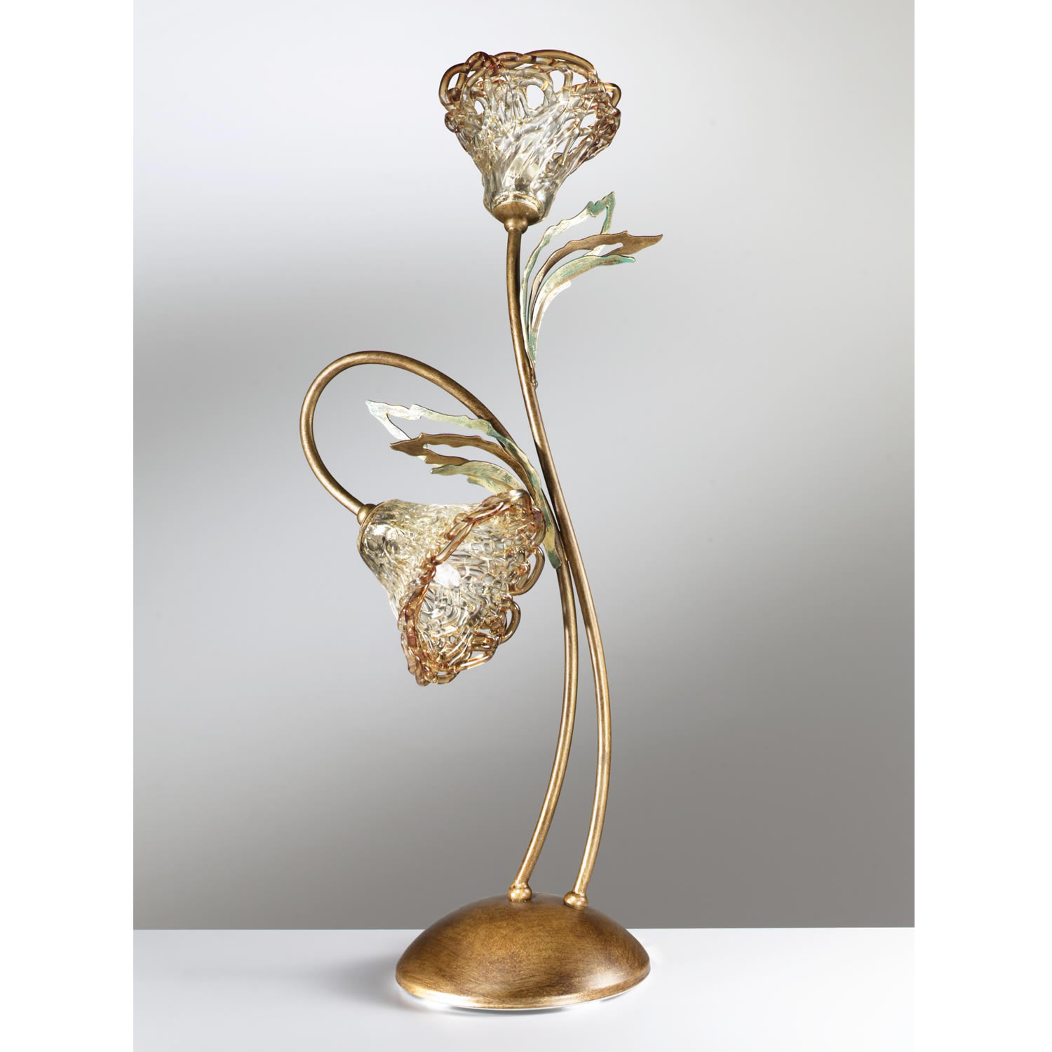 flower table lamp photo - 10