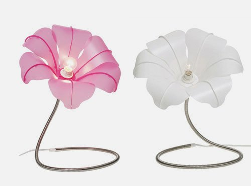 flower table lamp photo - 9