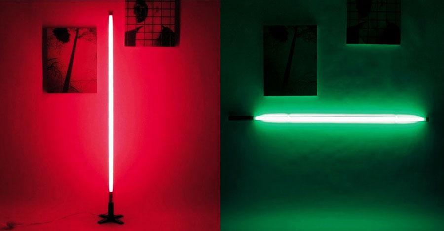 fluorescent floor lamp photo - 8