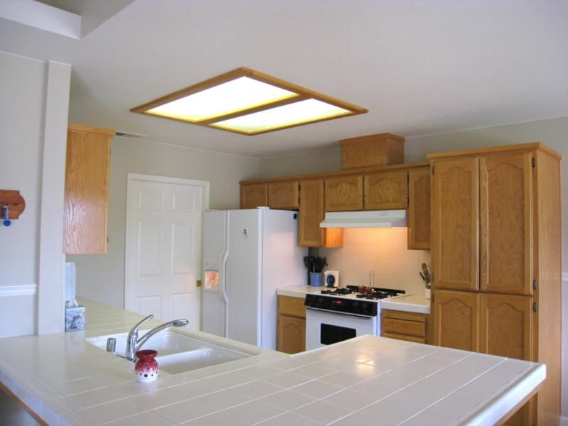 Fluorescent Kitchen Ceiling Lights | Warisan Lighting   Kitchens Are The  New Family Room Kitchen Lighting