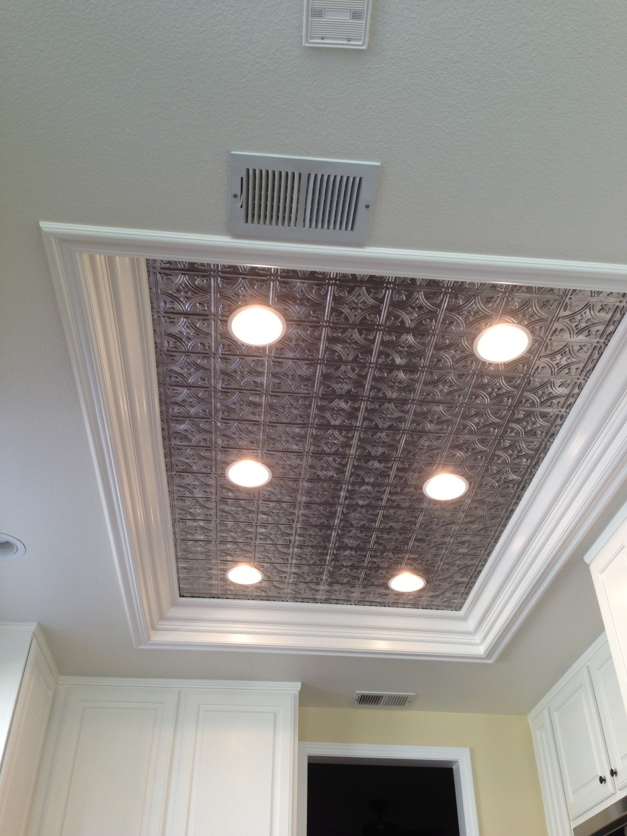 fluorescent light ceiling panels photo - 4