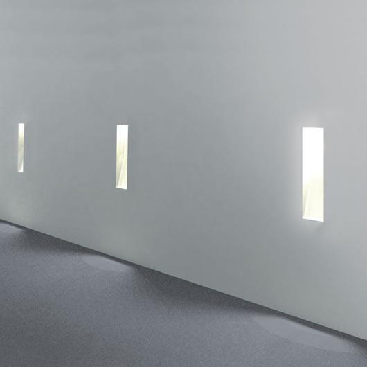 flush wall lights photo - 10