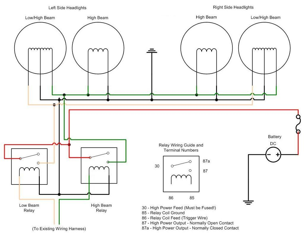 Fog Lamp Relay Wiring Diagram Solutions Wire
