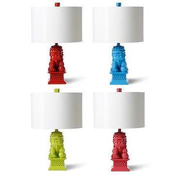 foo dog lamps photo - 3