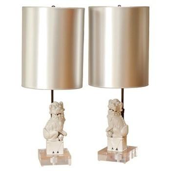 foo dog lamps photo - 5