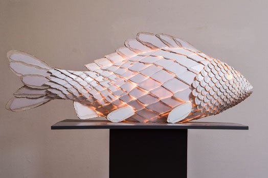 Frank Gehry Fish Lamp Visual Spectacle Of The Aqua Life Warisan Lighting