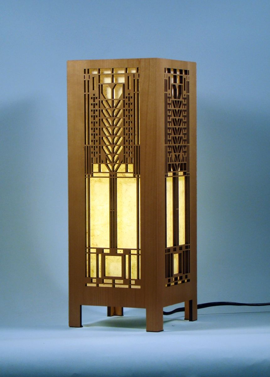 frank lloyd wright lamps photo - 2