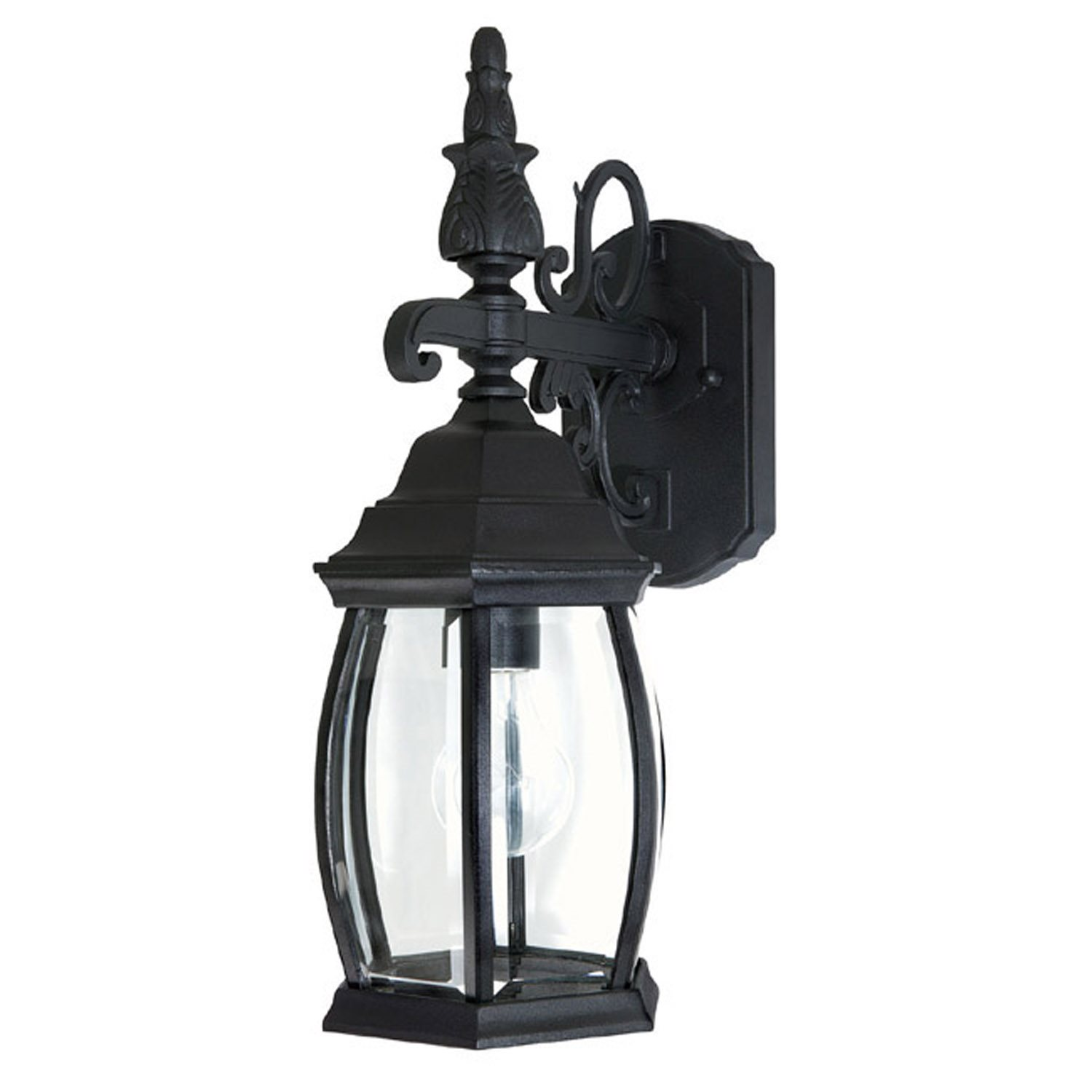 french country outdoor lighting photo - 1