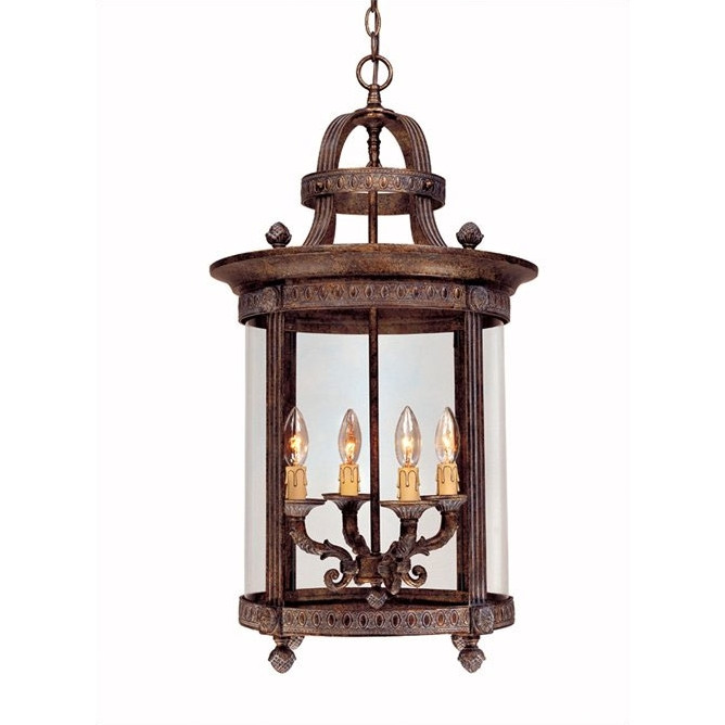 french country outdoor lighting photo - 10