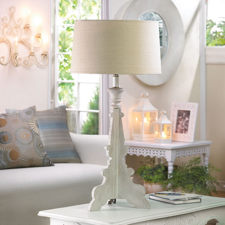 french country table lamps photo - 2