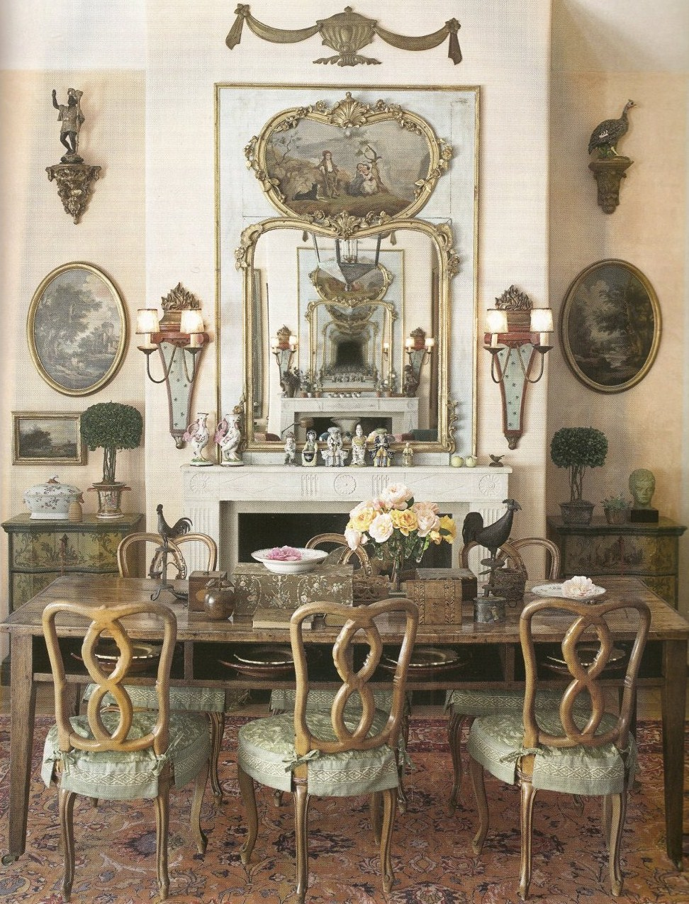 french provincial lamps photo - 10