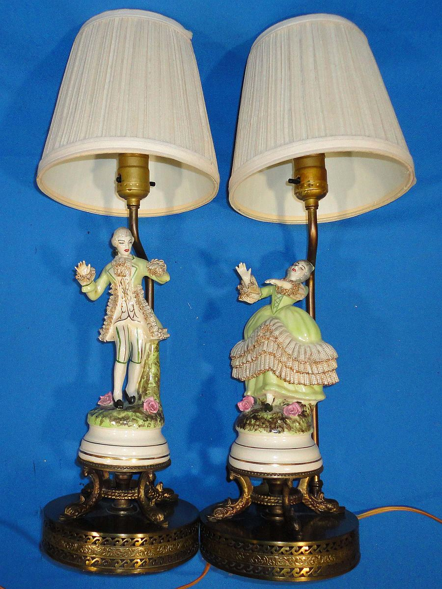 french provincial lamps photo - 4
