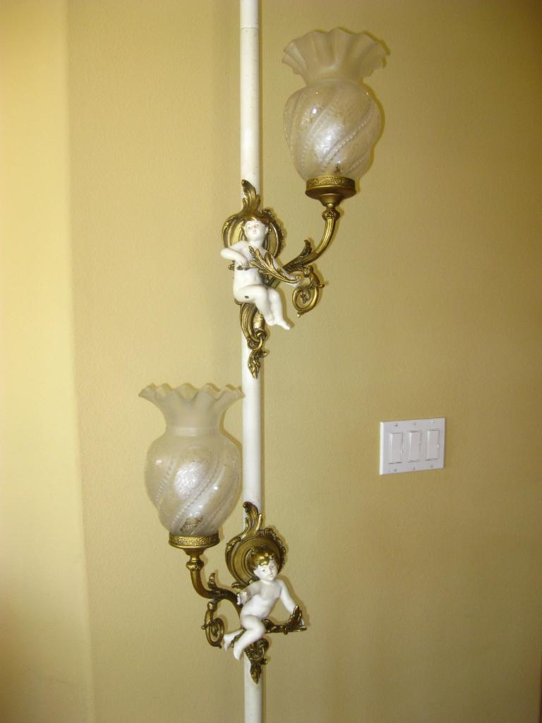 french provincial lamps photo - 9
