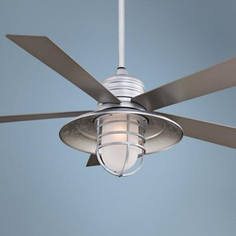 galvanized ceiling fans photo - 1