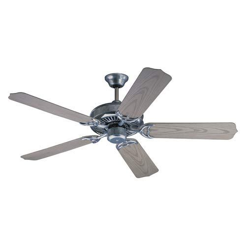 galvanized ceiling fans photo - 2