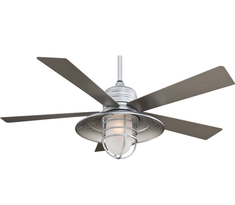 galvanized ceiling fans photo - 3