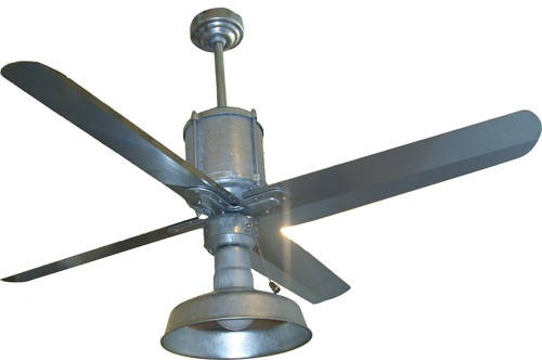 galvanized ceiling fans photo - 6