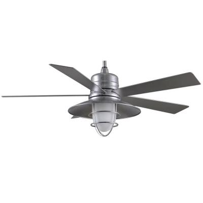 galvanized ceiling fans photo - 8