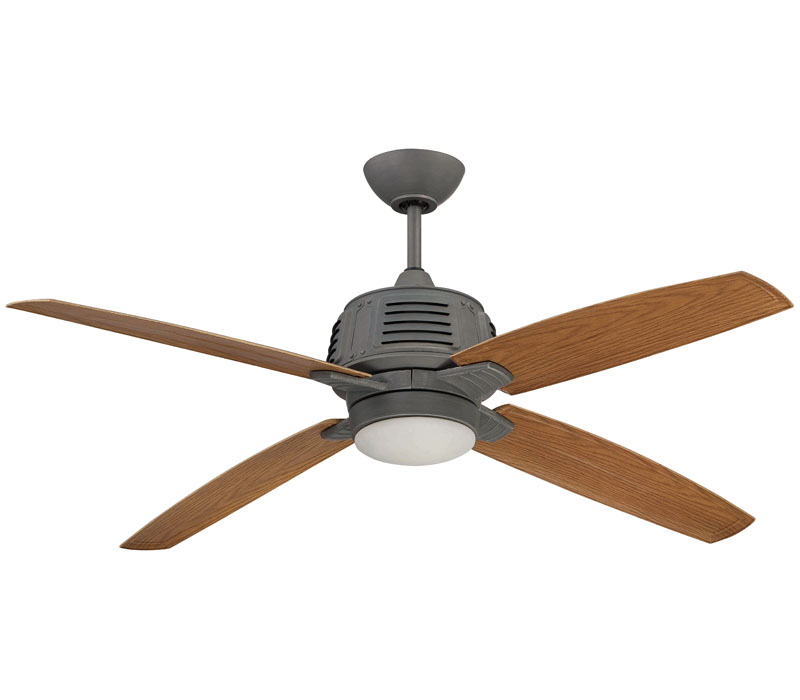 galvanized ceiling fans photo - 9