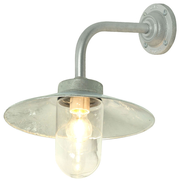 galvanized outdoor lights photo - 1