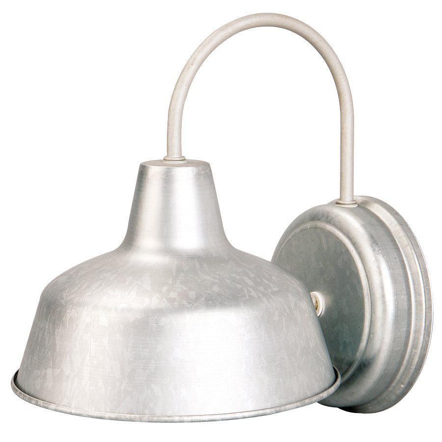 galvanized outdoor lights photo - 2